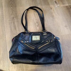 Nicole Miller Black Shoulder Bag